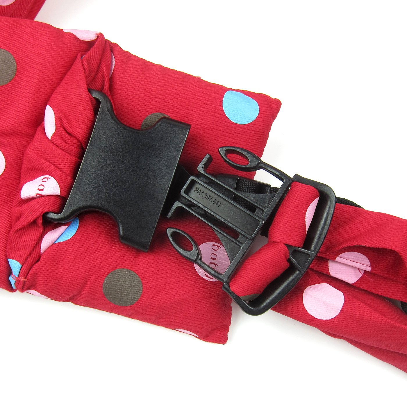 Alfie Pet by Petoga Couture - Hollis Pet Sling Carrier with Adjustable Strap - Color: Red by Alfie (Image #6)