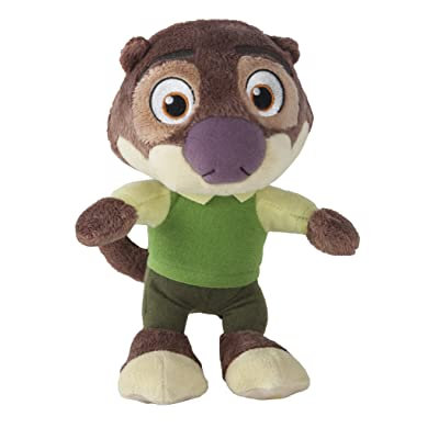 Zootopia Small Plush Mr. Otterton: Toys & Games