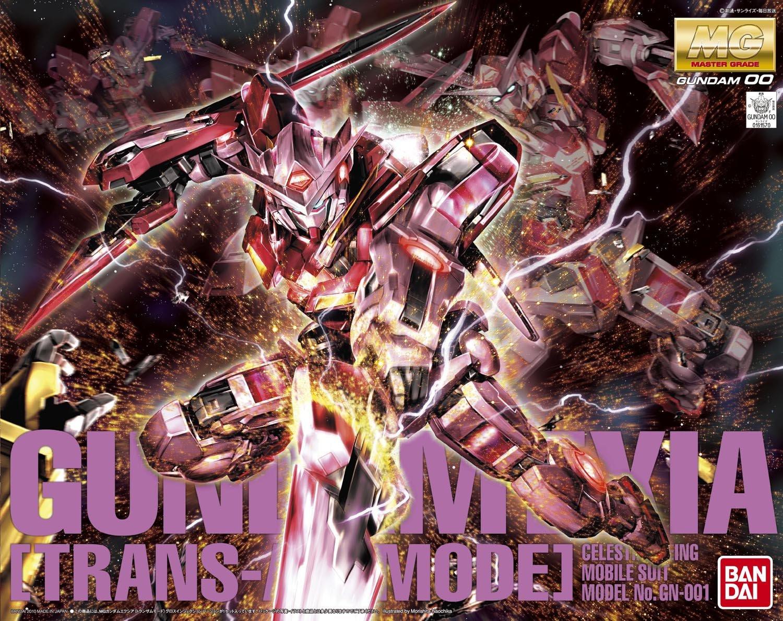 00 Gundam Exia Trans-AM Mode GUNPLA MG Master Grade 1/100 Bandai BAN161570