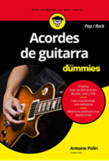 Acordes de guitarra pop/rock para Dummies eBook: Polin, Antoine ...