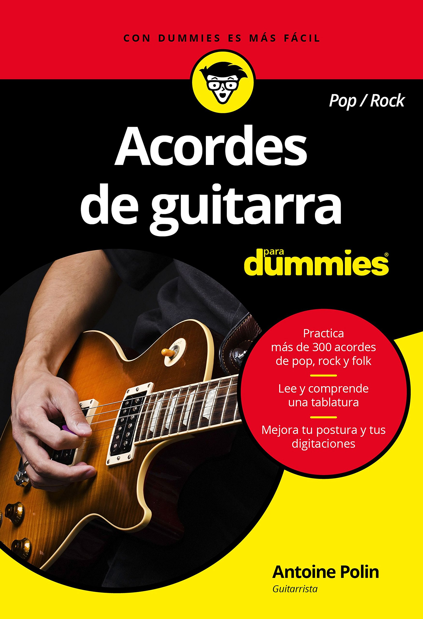 Acordes de guitarra pop/rock para Dummies (Spanish) Paperback – June 20, 2017