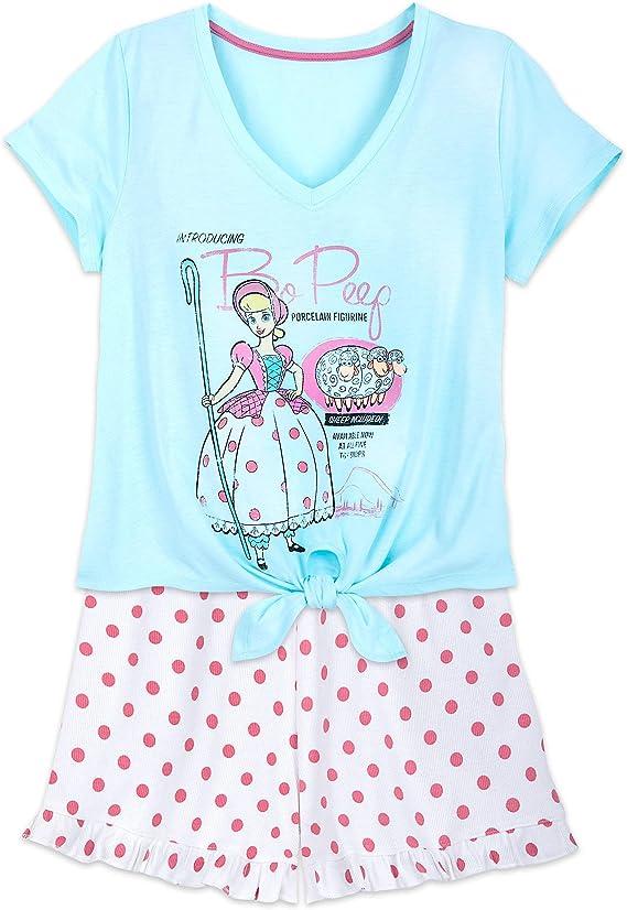 New Disney Store Toy Story Bo Peep Pajama Set pjs Pals Girls 4,5,6,7,8,10
