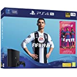 PlayStation 4 Pro (1TB) Console with FIFA 19 Ultimate Team Icons and Rare Player Pack Bundle