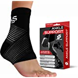 Ankle Brace for Plantar Fasciitis Support - Women & Men – Pain Relief Foot Sleeve (Single)