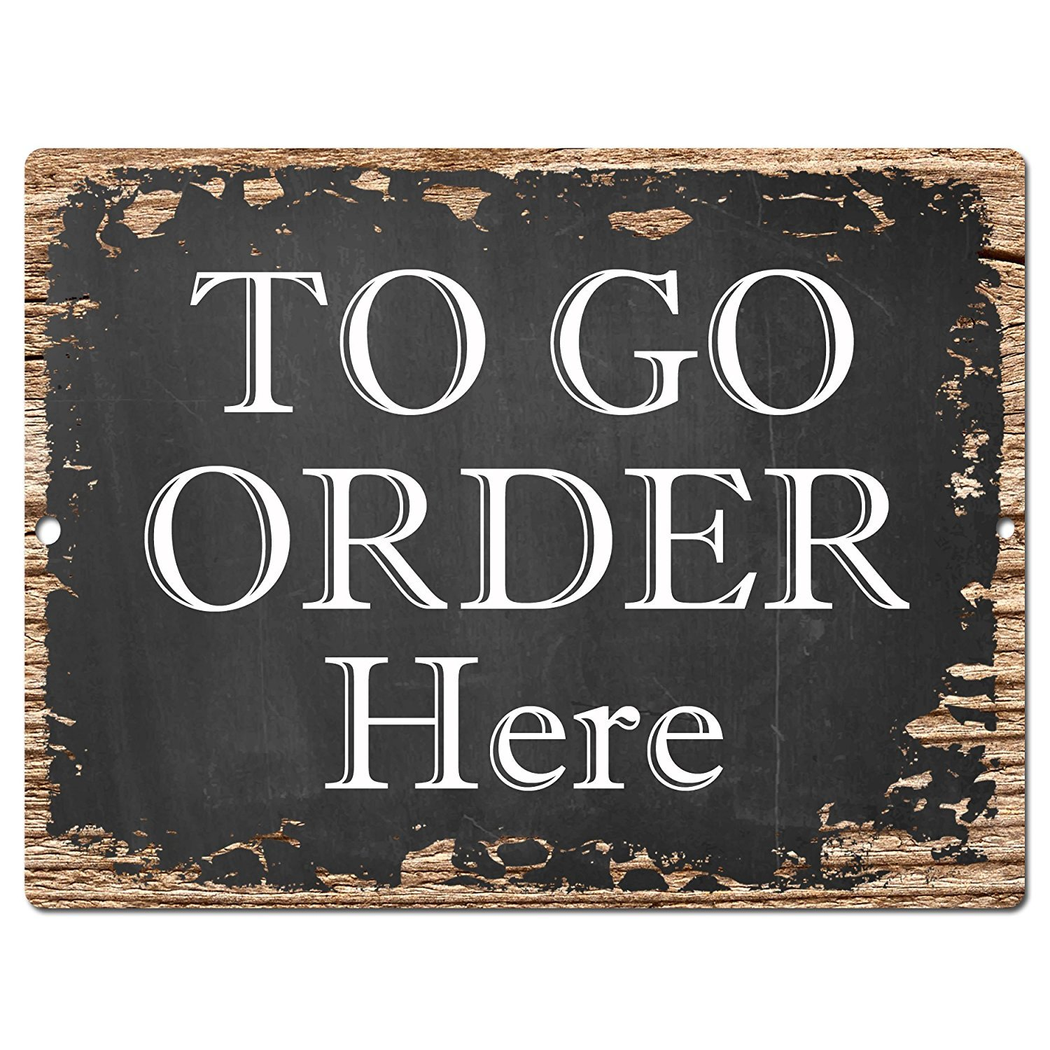 TO GO ORDER HERE Chic Sign Vintage Retro Rustic 9x 12 Metal Plate Store Home Room Wall Decor Gift