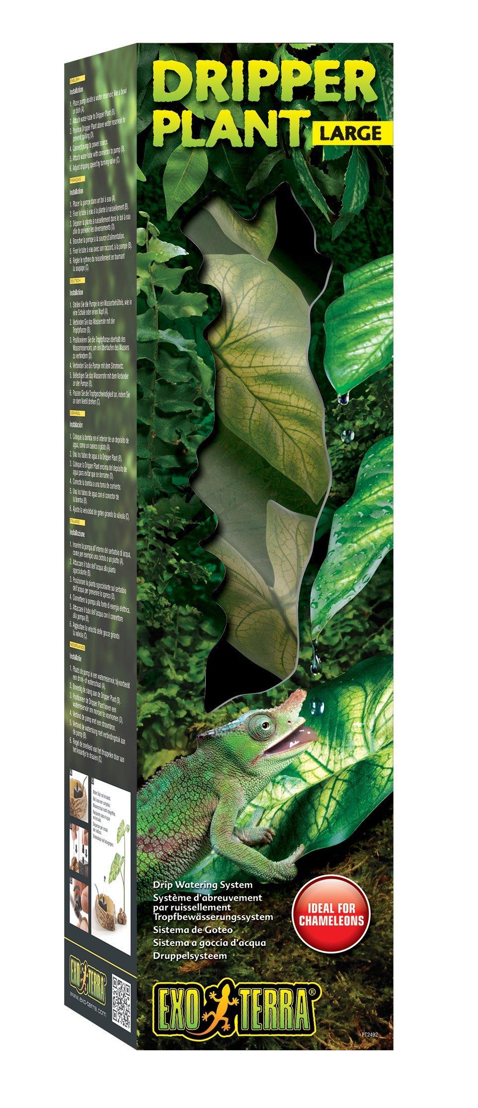 Exo Terra Dripper Plant, Large by Exo Terra