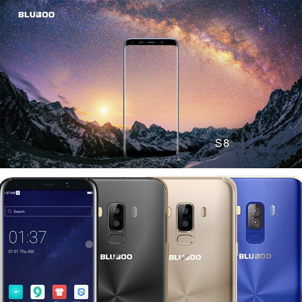 Gaddrt Bluboo S8 Android 7.0 Smartphone 4 GB + 32 GB Teléfono ...