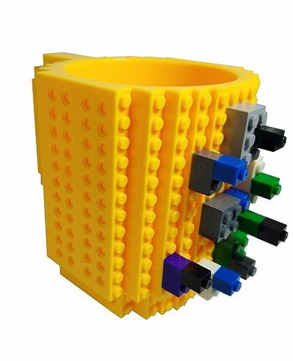 Amazon.com: BPA-Free12 - DIY Block Puzzle Mug for kids Christmas ...