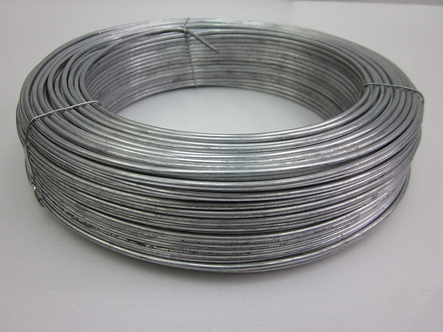Amazon.com: Tension Straining Wire for fencing, 100m x 2.5mm Wire (1 ...