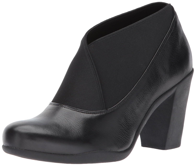 CLARKS Women's Adya Luna Dress Pump B01N5HQJTP 5.5 B(M) US|Black Leather