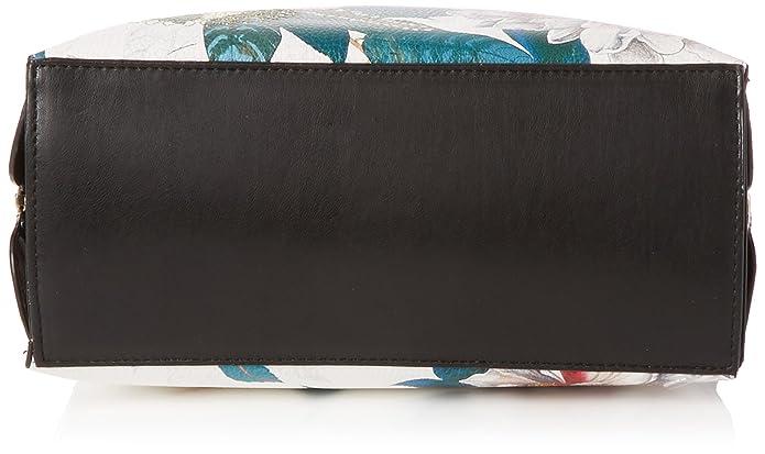 Desigual Troy, Borse Donna, Multicolore, 28 x13.5 x 24.5 cm