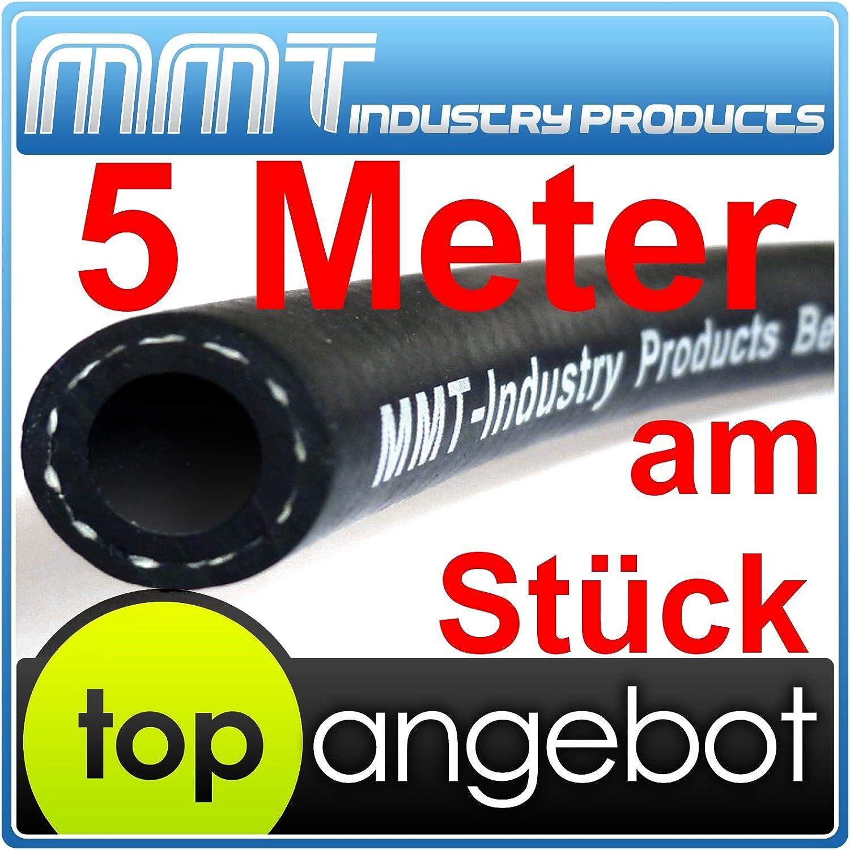 Mmt Industry Products Kraftstoffschlauch 5 Meter 6 X 12mm Benzinschlauch Dieselschlauch Treibstoffschlauch Nach Din73379 2a Auto