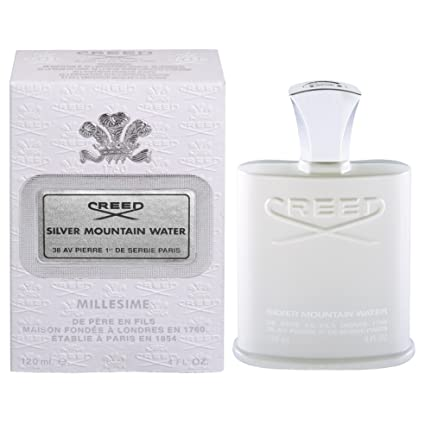 Perfume de hombre y mujer, unisex, Creed Silver Mountain, 120 ml, EDP