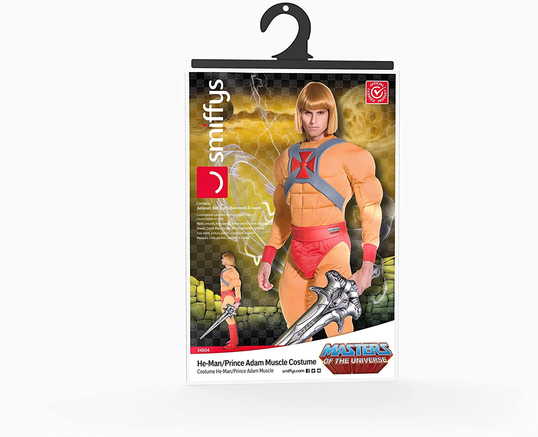 Maîtres de l/'univers Masters of the Universe He-man Prince Adam repro gilet avec ceinture