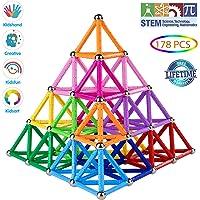 Veatree Bloques Magnéticos de Construcción para Niños Palos