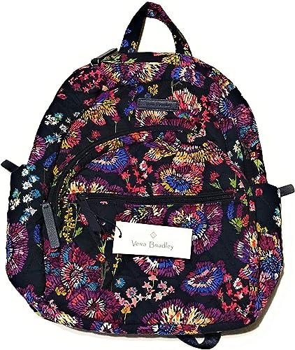 Vera Bradley Essential Compact Backpack – Midnight Wildflowers