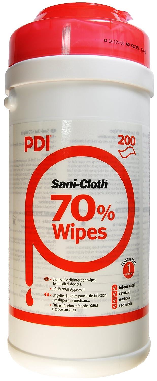 Sanicloth UNXPOO159 70 Alcohol Wipes (200) PDI