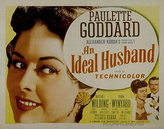 Amazon.com: An Ideal Husband, Paulette Goddard & Michael Wilding ...