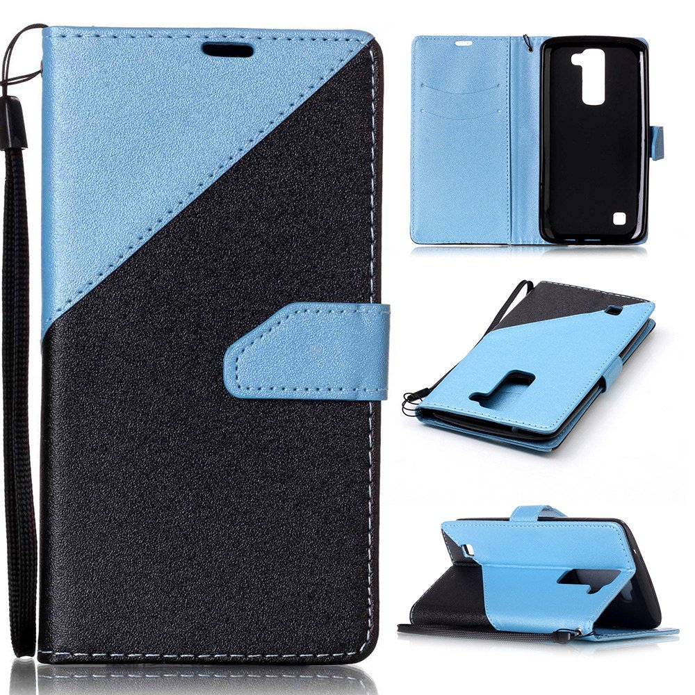 LG K7 Case, LG Tribute 5 Case, Everun Magnetic PU Leather Wallet Case with Credit Card Holders Slots Protection Case for LG K7/LG Tribute 5