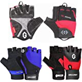 WEIGHT LIFTING GYM FITNESS TRAINING BODYBUILDING GLOVES Gallant Soft Gel Padded Crossfit Home Gym Body Workout Bicycle Bike Cycling Rowing Grip Gloves Women Mens Support Gloves