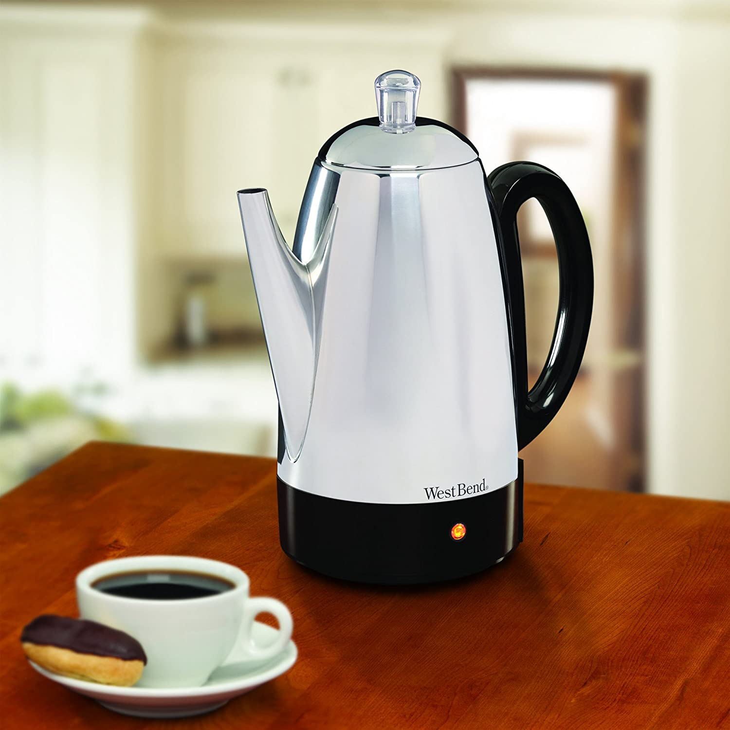 Uncategorized West Bend Kitchen Appliances amazon com west bend classic electric percolator 12 cup stainless steel 54159 coffee percolators kitchen dining