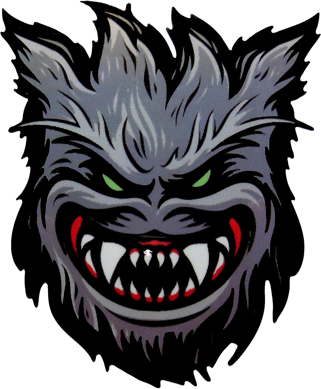 Werewolf Spitfire Wheels Skateboard Sticker