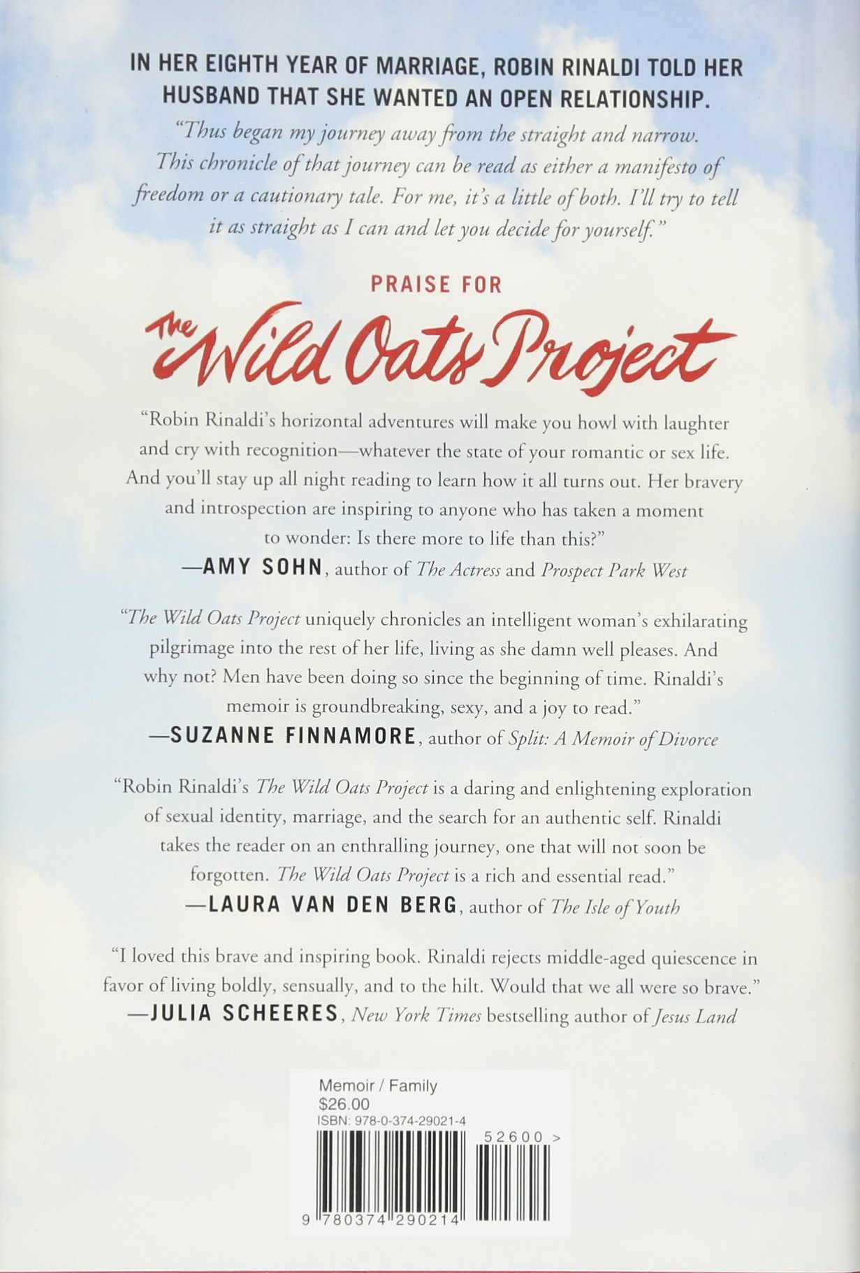 The Wild Oats Project: One Woman's Midlife Quest For Passion At Any Cost:  Robin Rinaldi: 8601423601762: Amazon: Books