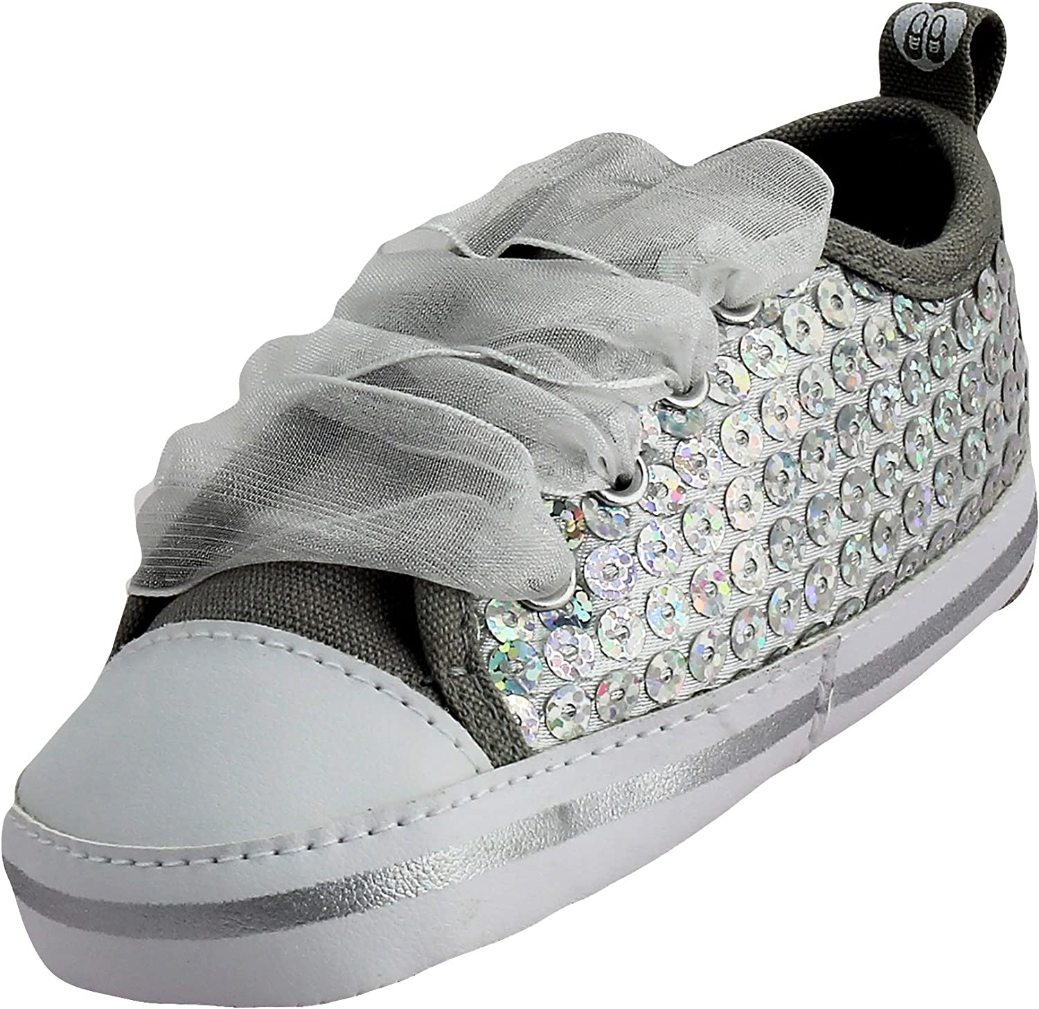 Stepping Stones Girls Sequin Sneakers