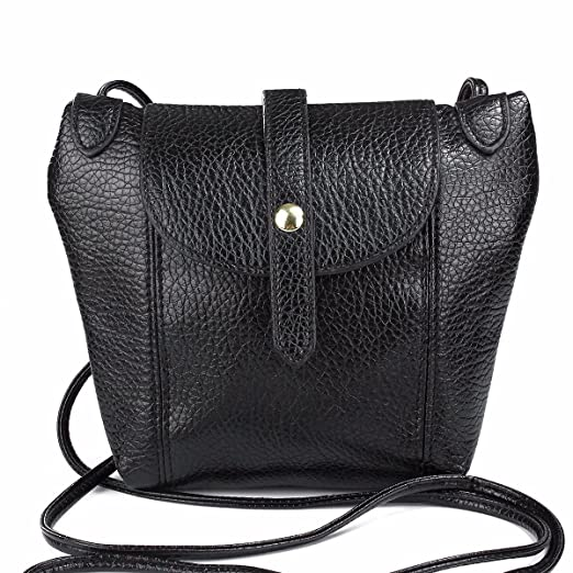 e7980bd3ad80 Amazon.com: OURBAG Simple Ladies Packet Washed PU Leather Soft Bag ...