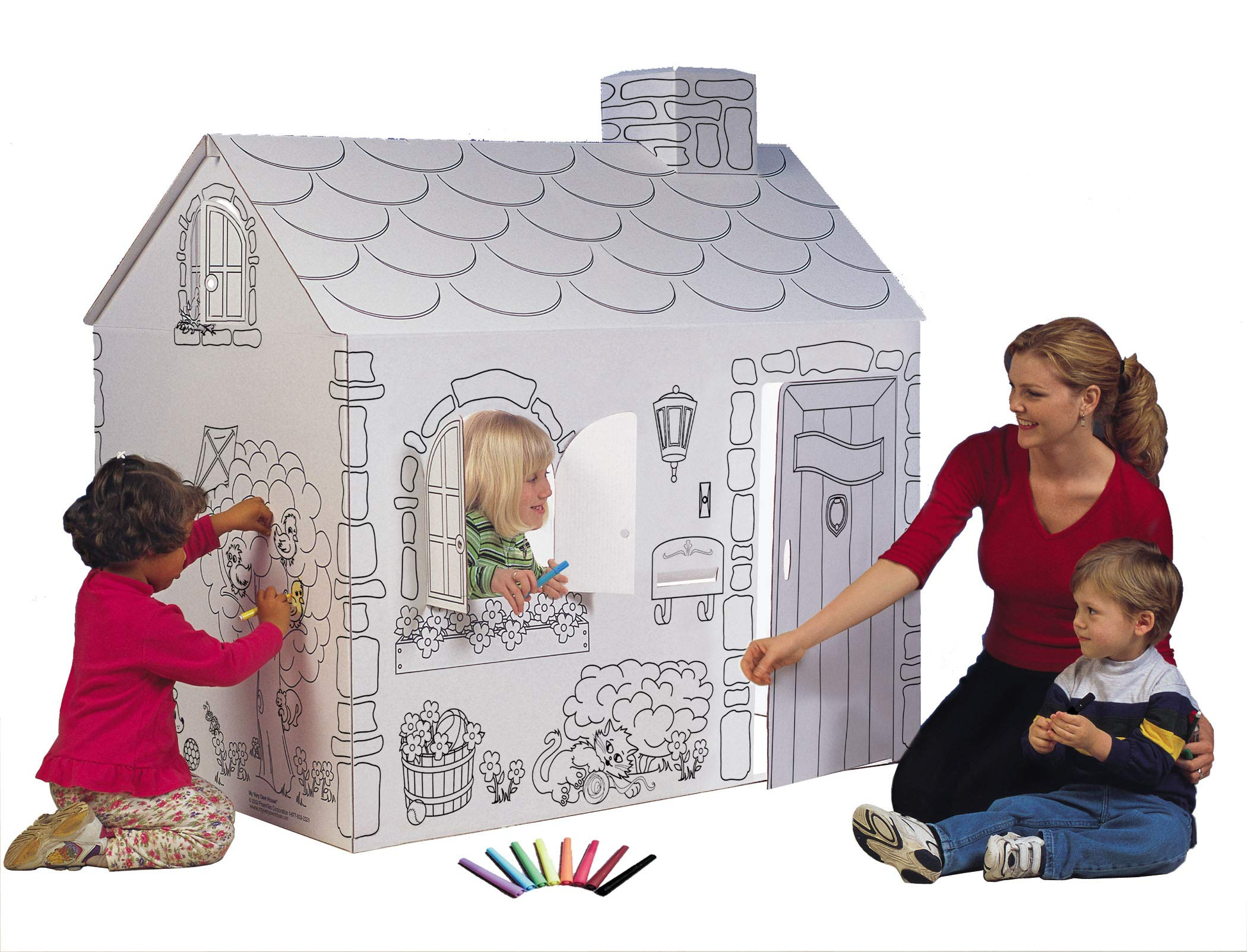 My Very Own House Coloring Playhouse, Cottage by My Very Own House
