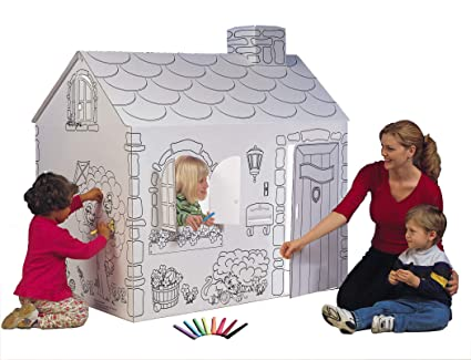BodyHealt My House Coloring Playhouse