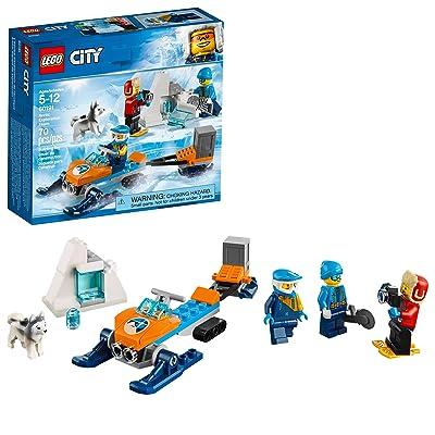 LEGO City Arctic Exploration Team 60191 Building Kit (70 Pieces): Toys & Games