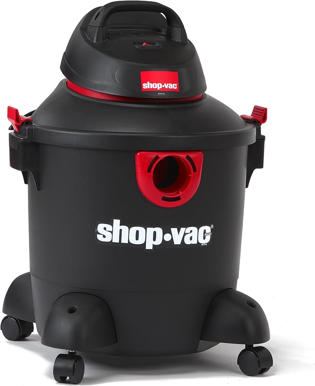 Shop-Vac 5985100 8 gallon 3.0 Peak HP Classic Wet Dry Vacuum, Black/Red