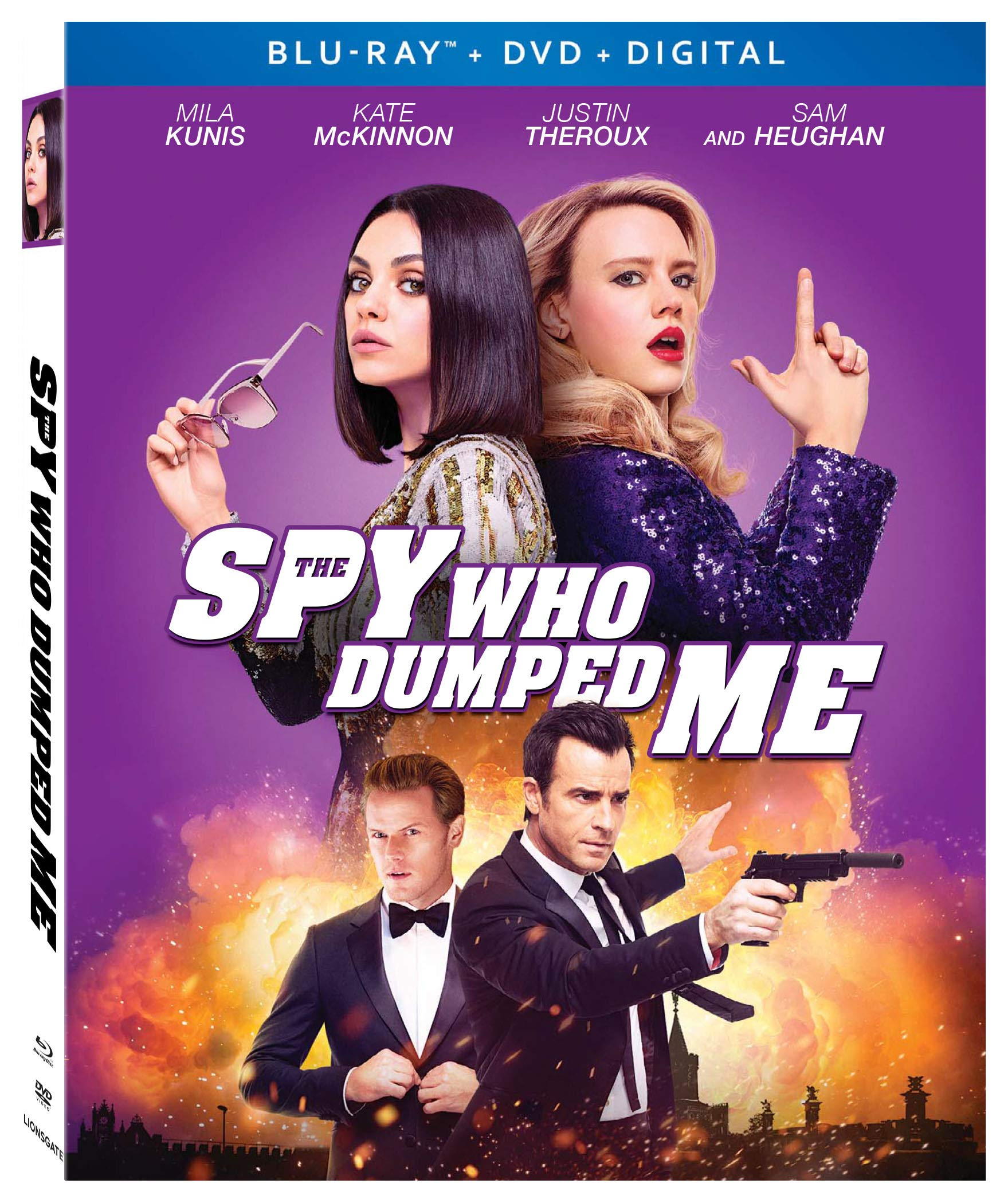 Blu-ray : The Spy Who Dumped Me (With DVD, Digital Copy, Subtitled, Dolby, AC-3)