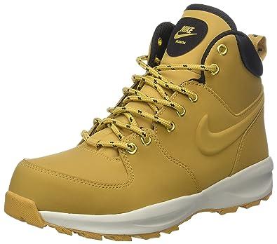 1555c4387e Nike Unisex-Kinder Manoa LTH Gs AJ1280-700 Sneaker, Mehrfarbig (Yellow 001