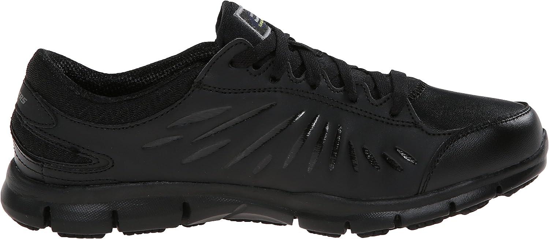 Skechers for Work 76551 Eldred Work Shoe Black
