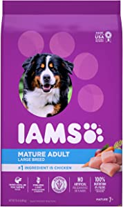 IAMS Proactive Health Senior Dry Dog Food, Chicken, All Breed Sizes