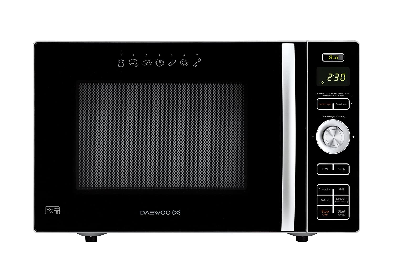 Daewoo Microwave Oven, 24 L, 900 W: Amazon.co.uk: Kitchen & Home