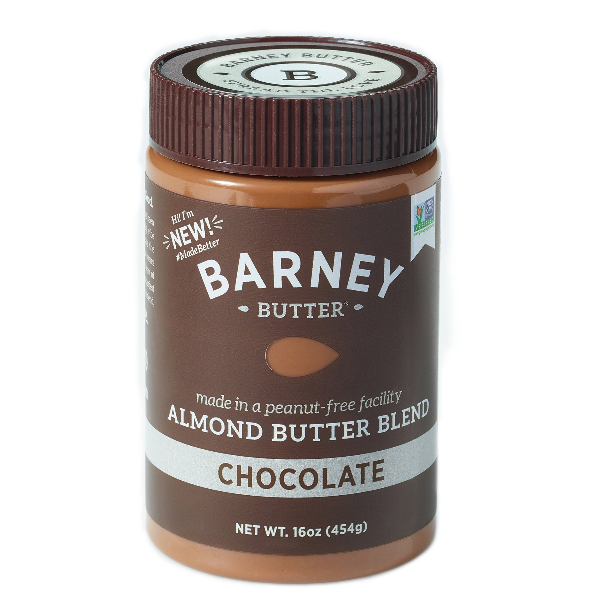 Barney Butter Almond Butter, Chocolate, 16 Ounce