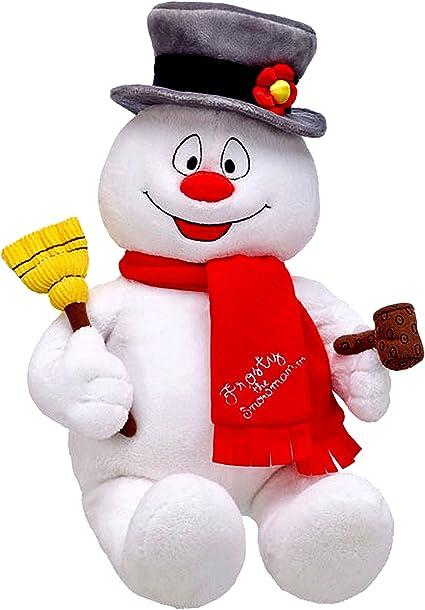"BABW Build a Bear Workshop 18/"" FROSTY the Snowman Plush Stuffed Toy"