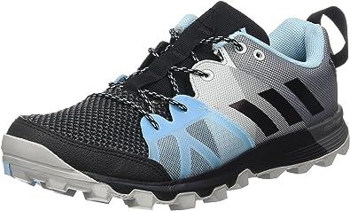 adidas Kanadia 8.1 TR W, Zapatillas de Running para Mujer, Negro (Negro-(Negbas/Negbas/AZUHIE), 45 1/3 EU: Amazon.es: Zapatos y complementos