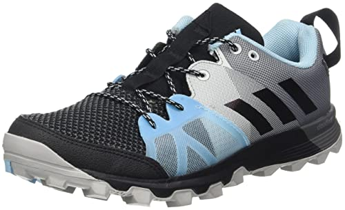 meet e74d6 ca613 adidas Women s Kanadia 8.1 Tr W Running Shoes, Black Negbas Azuhie, 4 UK