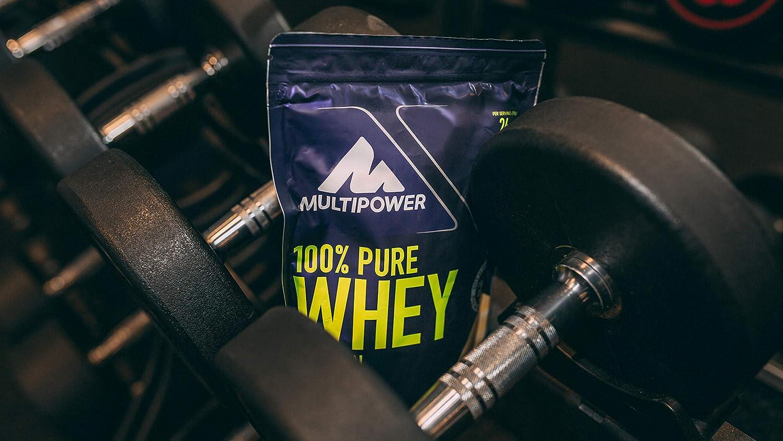 Multipower 100% Whey Protein Banana Mango - 450 gr