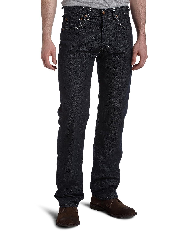 リーバイス501オリジナルフィットジーンズ、ブルー B007HQHH74 waist34|Clean Rigid Clean Rigid waist34