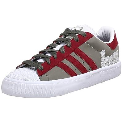 adidas Originals Men\u0027s Superstar Vulc Nubuck Sneaker,Loam/Cherrywood,10.5 M
