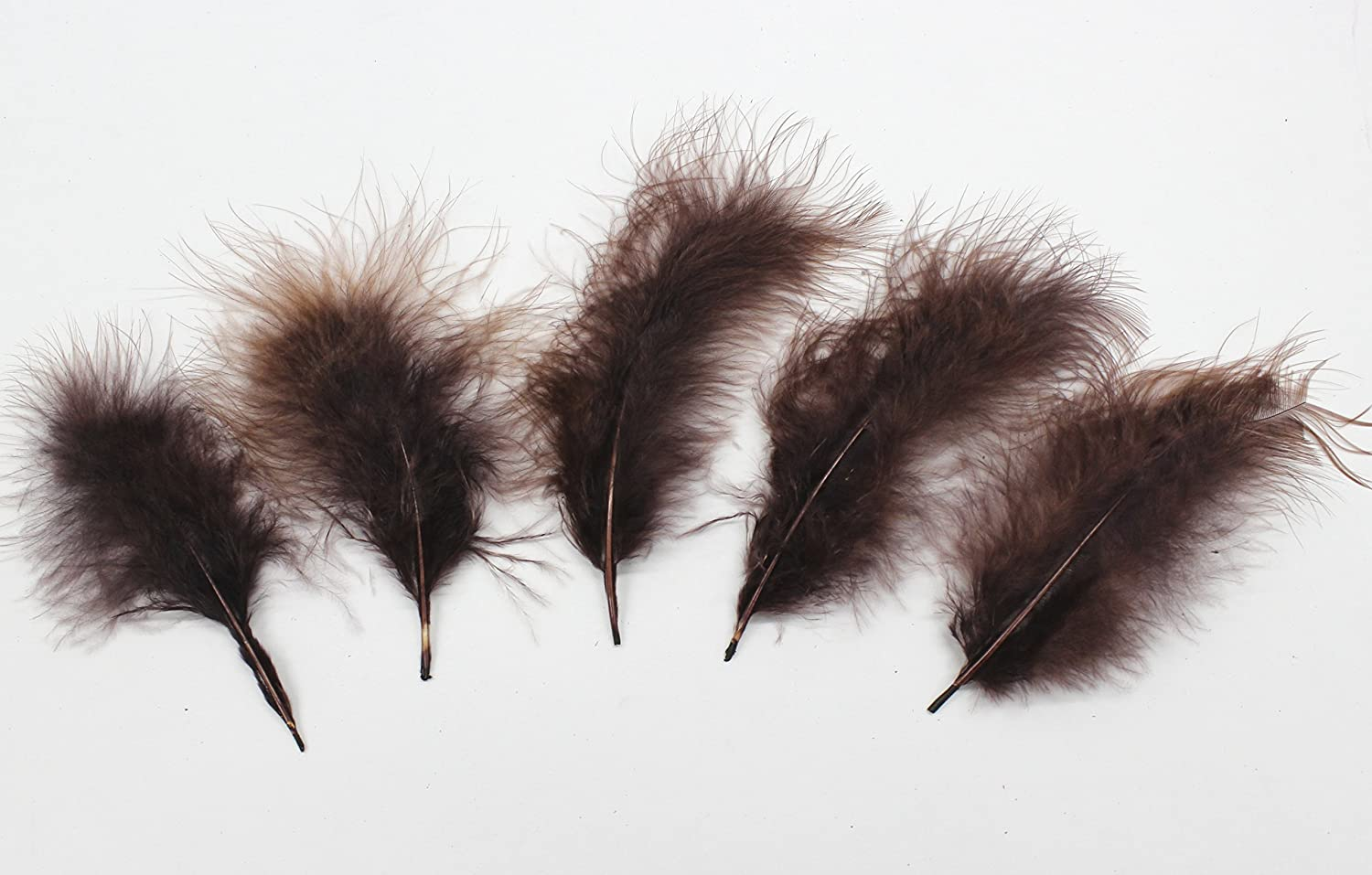 "30 Pcs MARABOU PLUMAGE Feathers 2-5/"" FUCHSIA; Crafts//Halloween//Costume//Hats"
