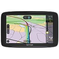 TomTom Car Sat Nav VIA 62, 6 Inch with Handsfree Calling, Lifetime Traffic via Smartphone and WE Maps,Resistive Screen