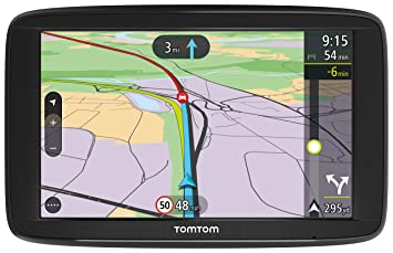 Tomtom Via   Inch Sat Nav With Western Europe Lifetime Maps