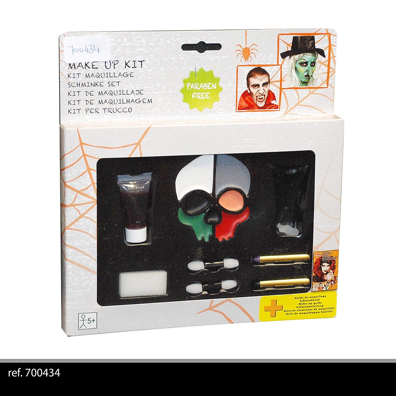 GOODMARK - Set de Maquillaje de Calavera, 700434: Amazon.es: Juguetes y juegos