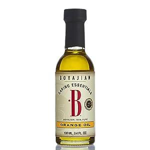 Boyajian Pure Orange Oil, 3.4 Fluid Ounce